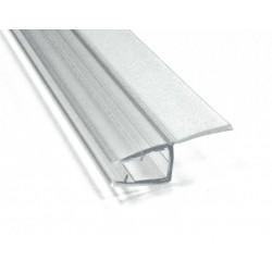 Goma junta recta cristal 10 mm