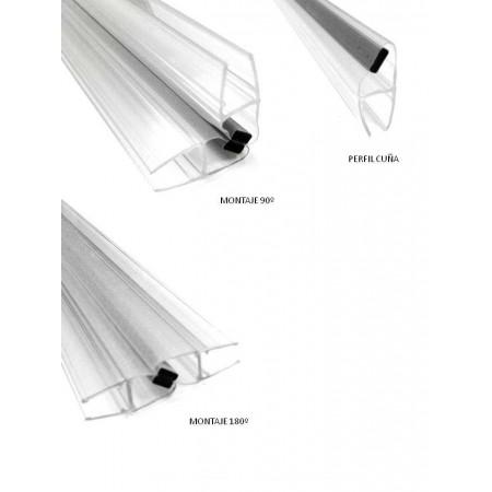 Goma Magnética Cuña N/S cristal 5-6-8