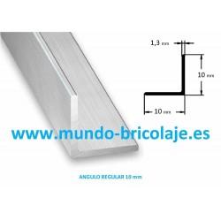 Angulo Regular Aluminio 10X10X1.3