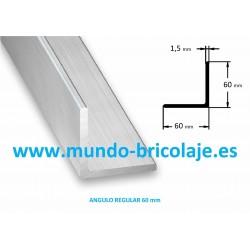 Angulo Regular Aluminio 60X60X1.5