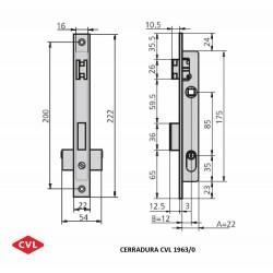Cerradura CVL 1963/0