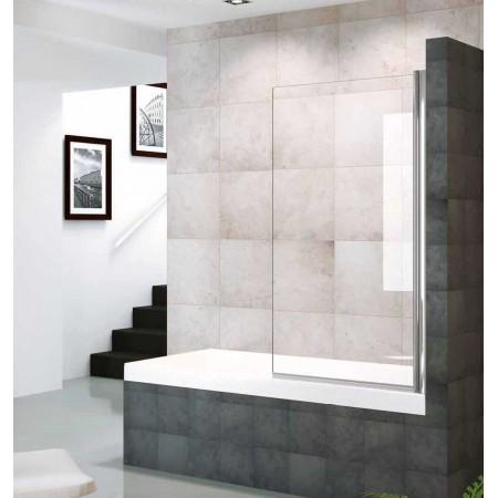 Mampara 1 hoja bañera 80 cm