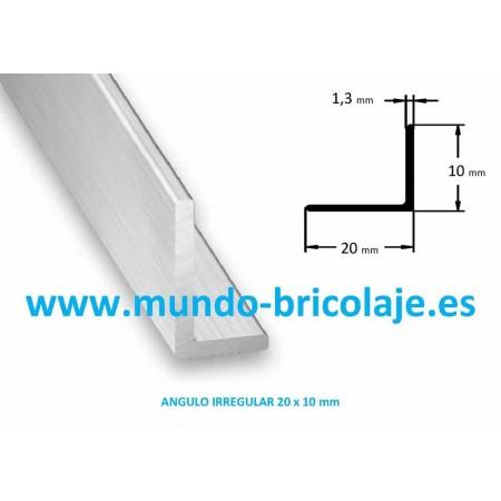 Angulo Irregular Aluminio 20X10X1.3