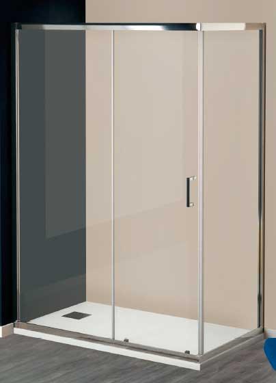 Diferentes tipos de mamparas para ba o y ducha - Mamparas de cristal para banos ...