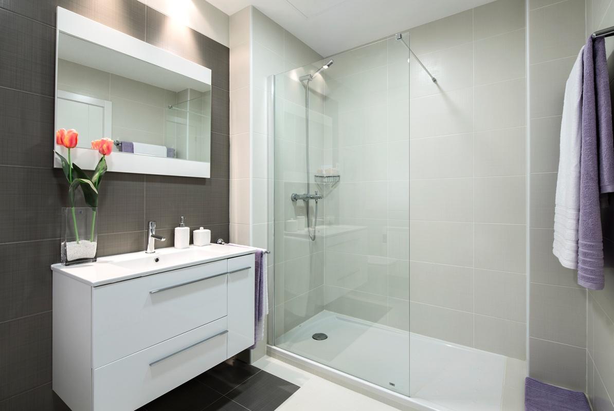 Regadera De Baño Que Es:Necesitas una mampara de baño pero hay tanta variedad de oferta que