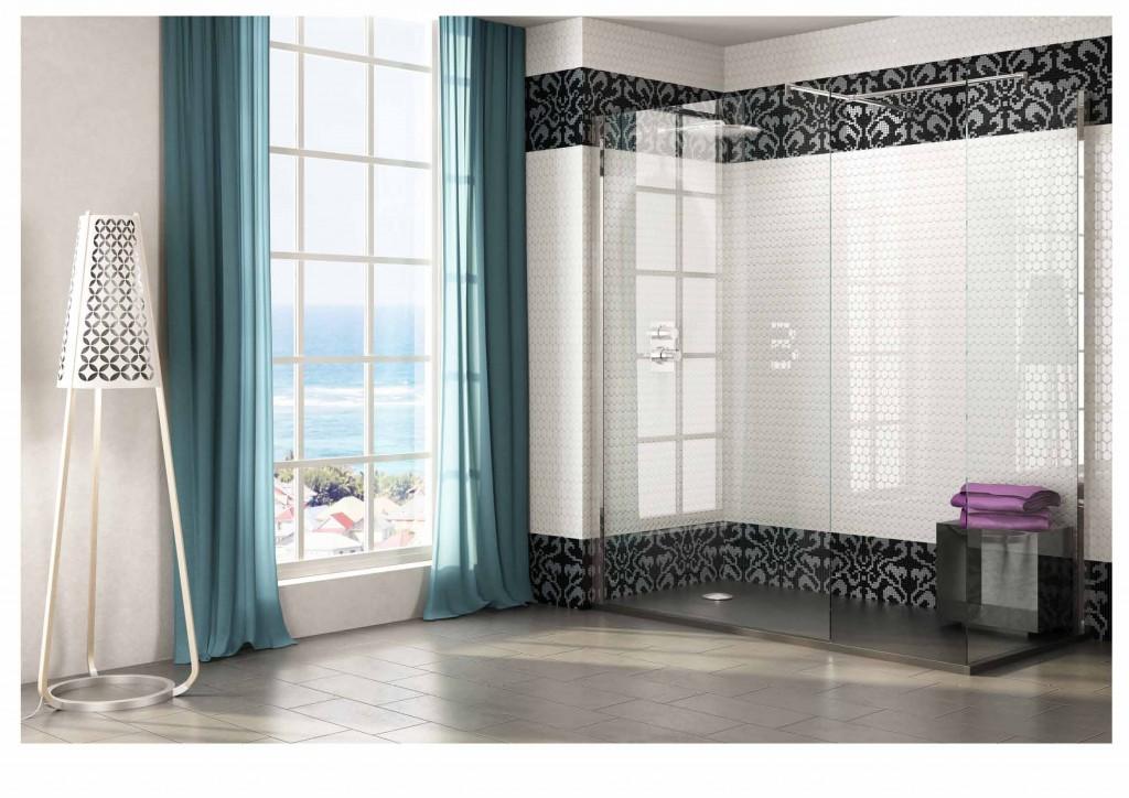 Diferentes tipos de mamparas para ba o y ducha - Perfil mampara ducha ...