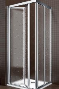 mamparas de baño tipos de apertura batiente