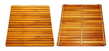 Tarimas de ba o de iroko por qu utilizamos esta madera - Tarimas para platos de ducha ...