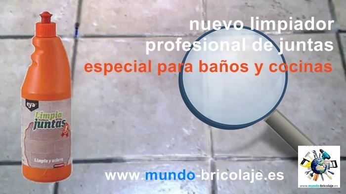 Limpia juntas especial para ba os y cocinas - Como limpiar azulejos de cocina ...