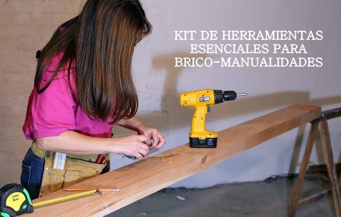 Kit de herramientas esenciales para manualidades de bricolaje - Manualidades y bricolaje ...