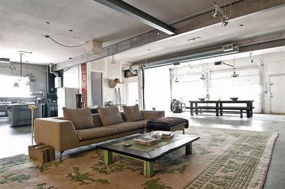 Elige el estilo industrial para tu salón