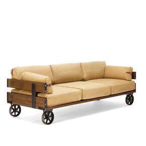 Sofá reciclado