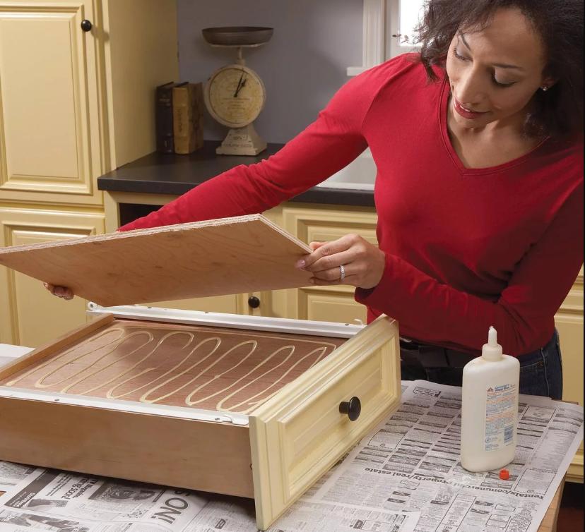 cómo reparar gabinetes de cocina fácilmente