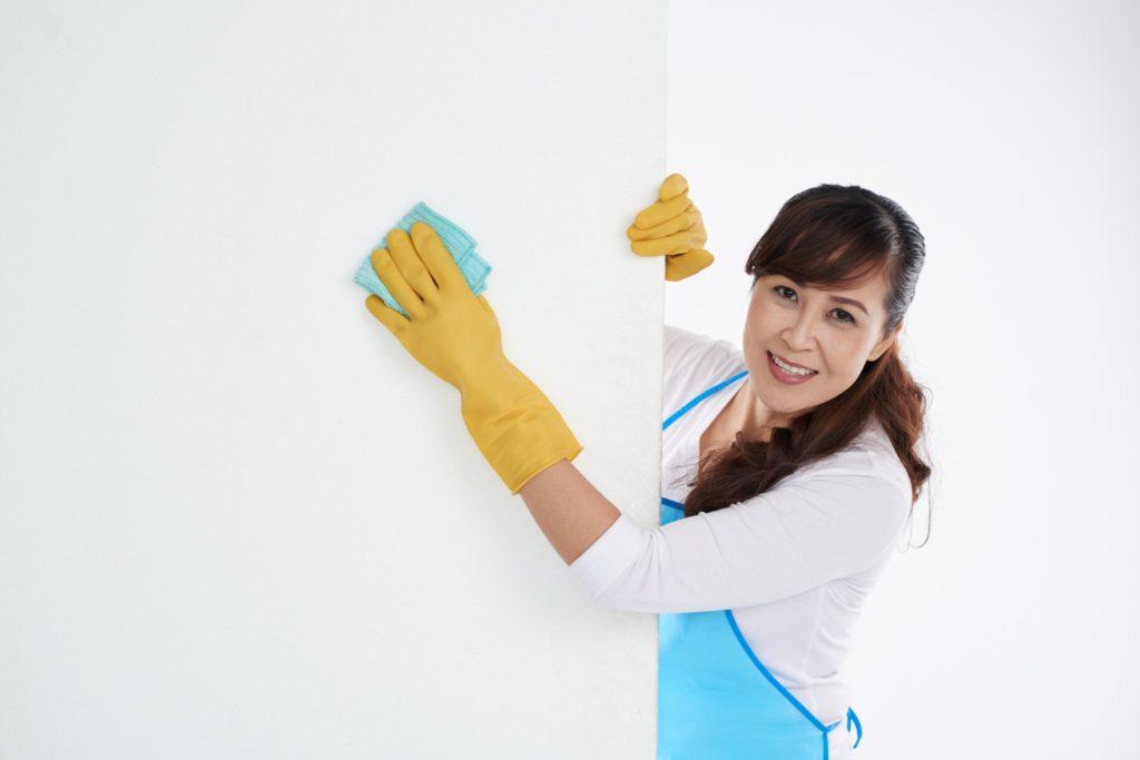 Cómo limpiar las paredes del hogar u oficina