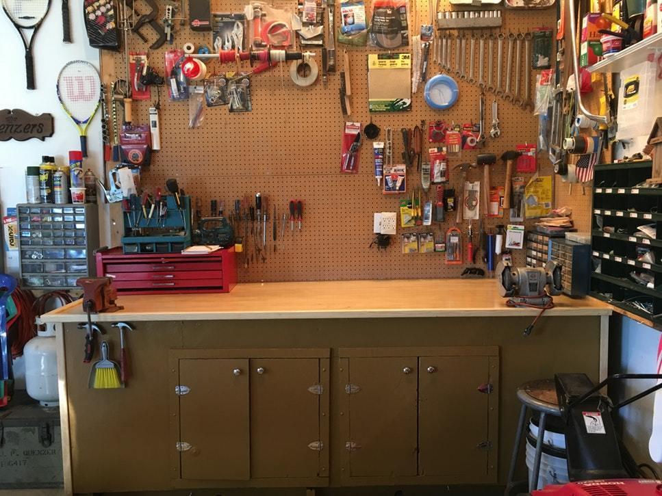 Consejos sobre cómo organizar y almacenar herramientas