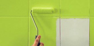 Cómo pintar azulejos en el hogar