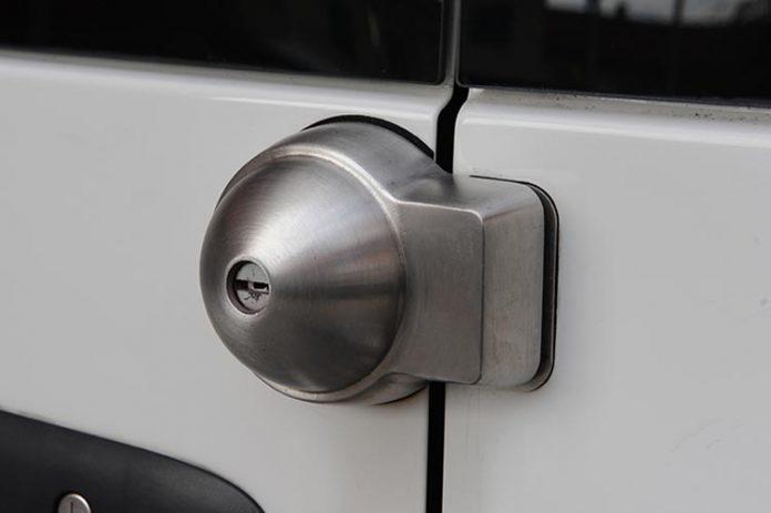 Cerradura de seguridad para furgoneta