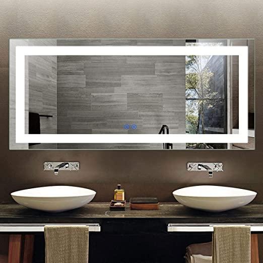 ¿Cuál es la diferencia entre espejo de baño y espejo normal?