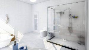 Mamparas de ducha para duchas accesibles